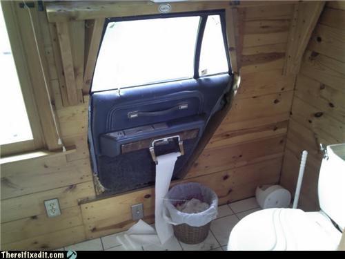 bathroom,car door,dual use,wtf
