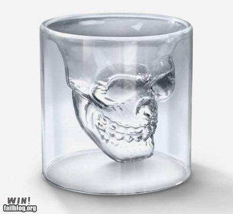 design,glass,Hall of Fame,memento mori,shot glass,skull