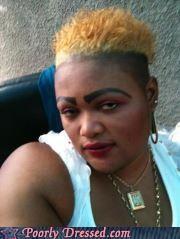 bleached,eyebrows,hair
