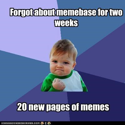 Success Kid: Start Your School Year with More Memebase!