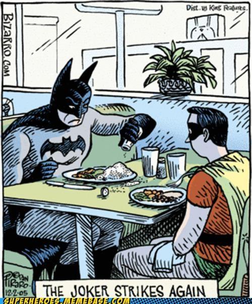 Awesome Art,batman,bizarro,salt,the joker