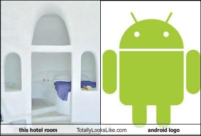This Hotel Room Totally Looks Like Android Logo