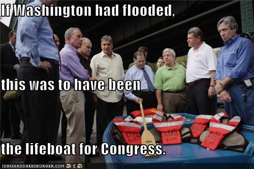 If Washington had flooded, this was to have been the lifeboat for Congress.