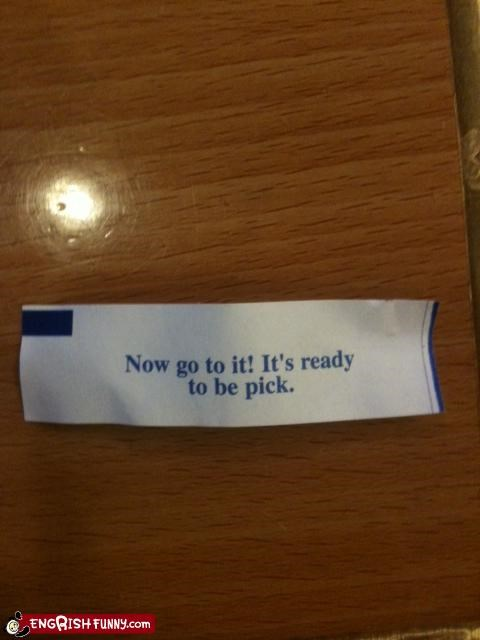 Fortune Cookie Friday: The Future is Ripe!