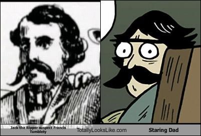 Jack the Ripper Suspect Francis Tumblety Totally Looks Like Stare Dad