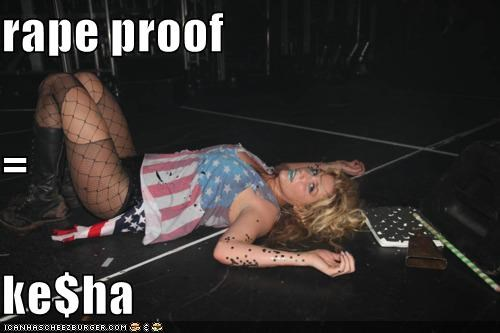 rape proof = ke$ha