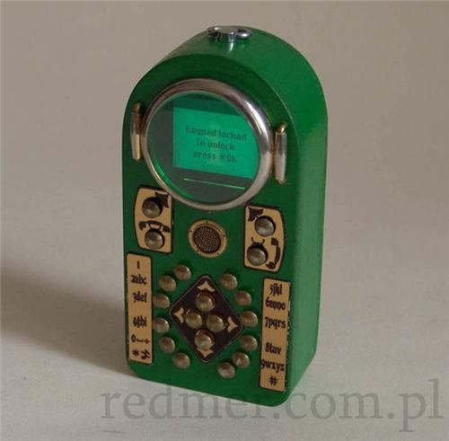 Steampunk Cell Phone of the Day