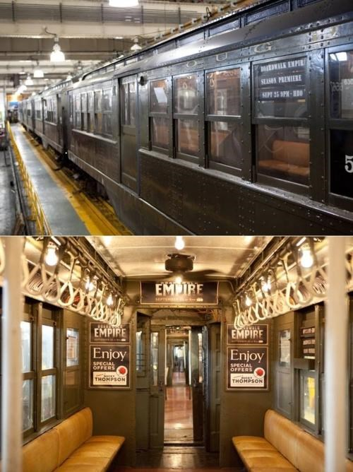 Old-Timey Subway Train Campaign of the Day