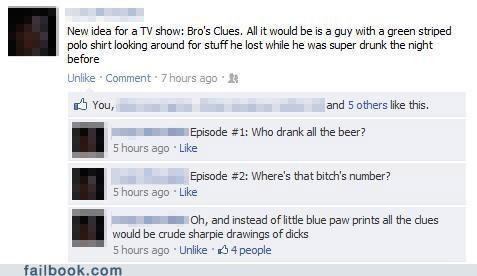 blues clues,bros,good idea,TV,win