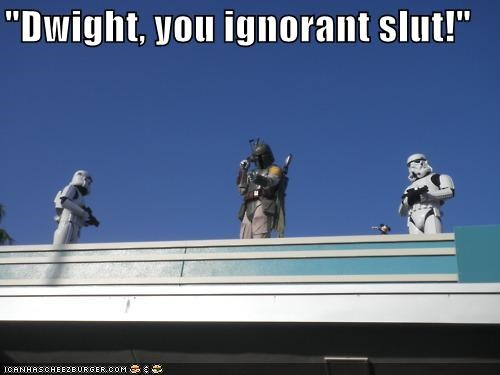 Star Wars + The Office = Win