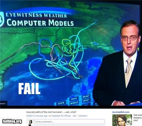 Hurricane Path FAIL