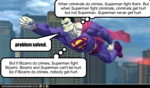 Bizarro Is Quite Humanitarian