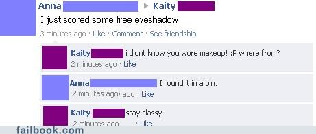 free,makeup,trash,your friends are laughing at you