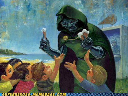 Dr. Doom's Ice Cream: Evil Never Tasted so Good