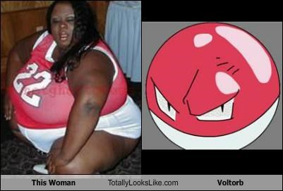 This Woman Totally Looks Like Voltorb