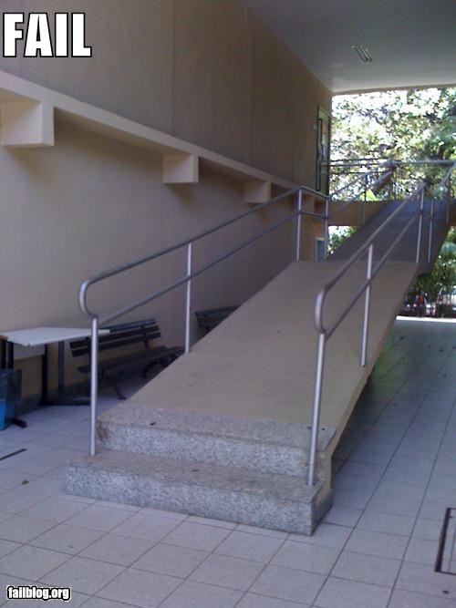 Handicap Ramp FAIL