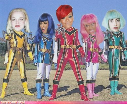 Ga Ga Pop Star Rangers!