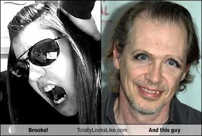 Brooke! Totally Looks Like And this guy