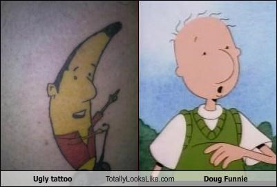 Ugly Tattoo Totally Looks Like Doug Funnie