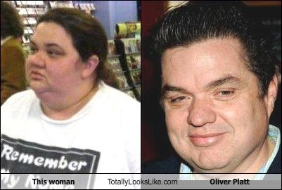 This Woman Totally Looks Like Oliver Platt