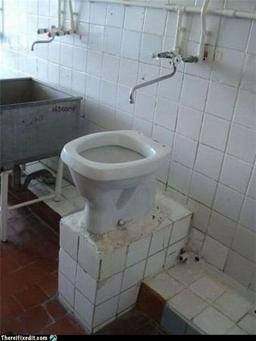 Can't Tell If Toilet Or Sink...