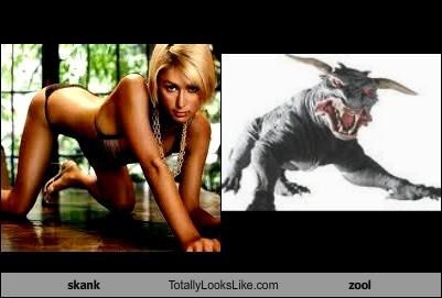 Paris Hilton Totally Looks Like Zuul