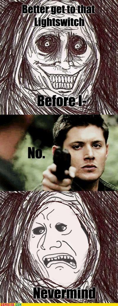 Dean Winchester Your Ass, Man