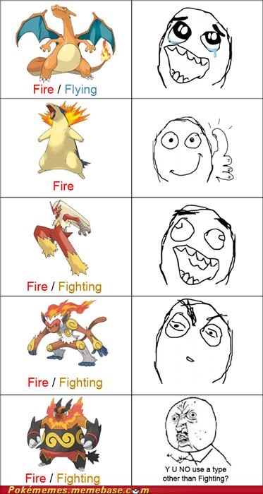 Y U NO Have Some Creativity, Pokéman?