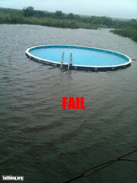 Pool Location FAIL