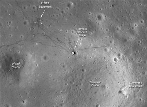 Apollo Landing Site Close-Ups of the Day