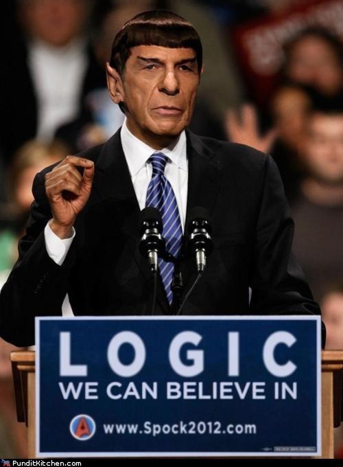 election 2012,Hall of Fame,political pictures,Spock,Star Trek
