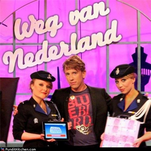 game show,immigration,political pictures,The Netherlands,TV
