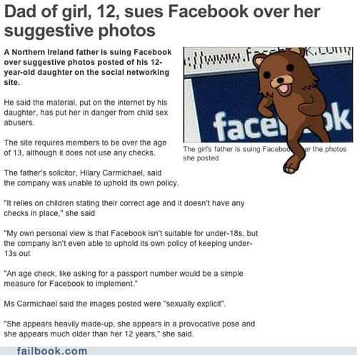 plz no sexy times,age,facebook,lawsuit,pedobear