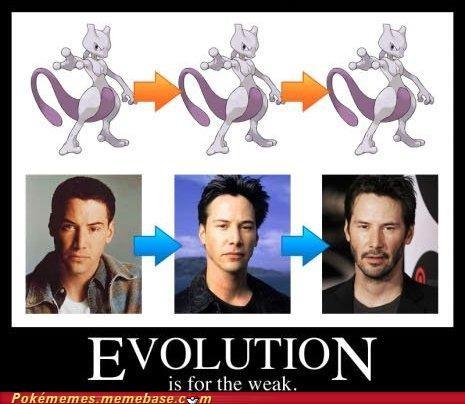 Evolve,IRL,IRL evolution,keanu reeves,mewtwo