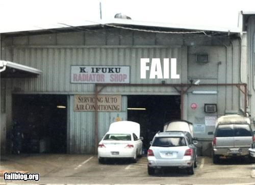 Body Shop FAIL