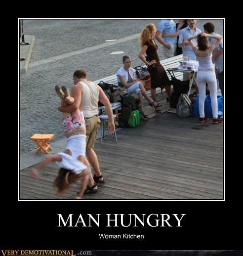 MAN HUNGRY, Man