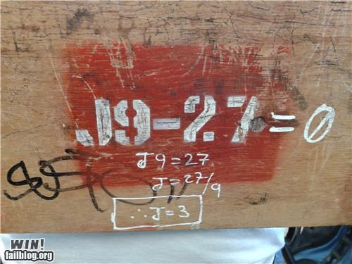 Hacked IRL: Instant Equation!