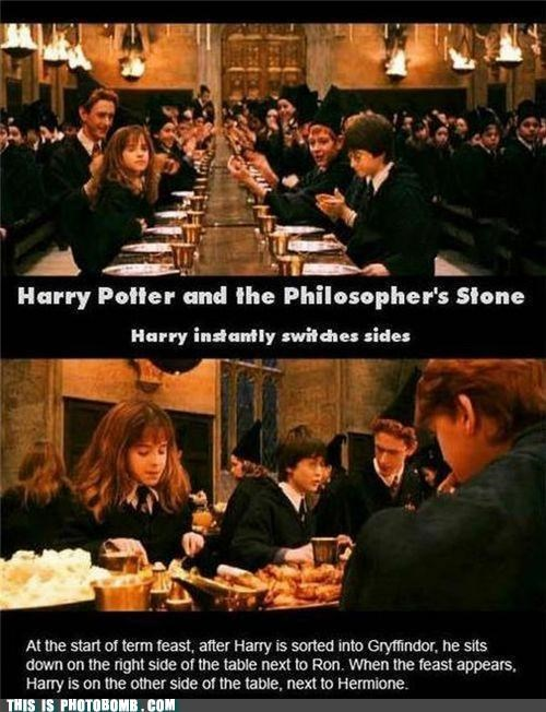 great wizard,Harry Potter,movie gaffe,teleport