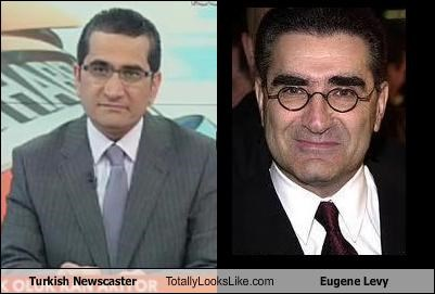 Turkish Newscaster Totally Looks Like Eugene Levy