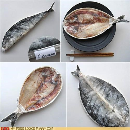Mackerel Pencil Case