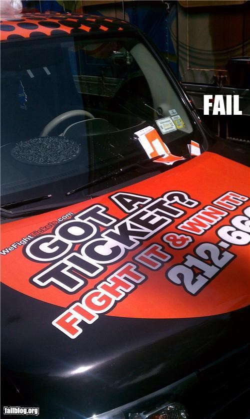Ticket Fighter FAIL