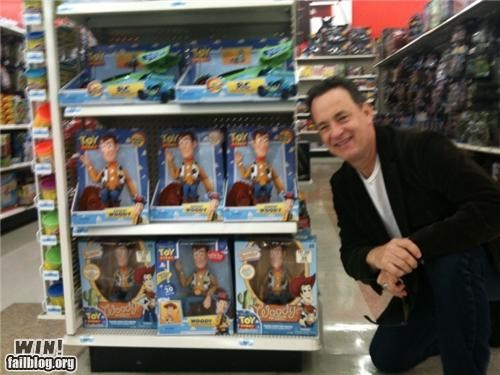 Tom Hanks WINs