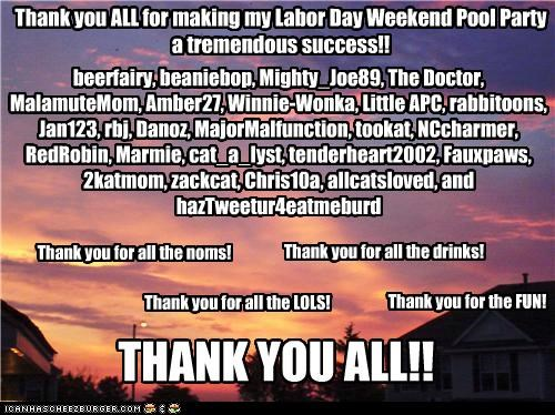 Hmph's Labor Day Weekend Pool Party! THANK YOU ALL~!