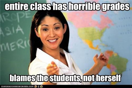 entire class has horrible grades