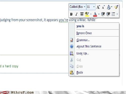 MS Outlook, aka Fail 2011