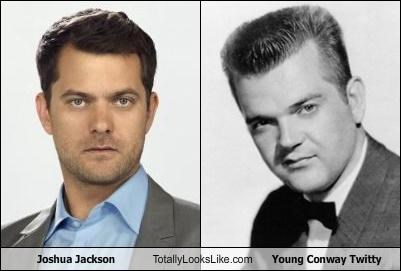 Joshua Jackson Totally Looks Like Young Conway Twitty