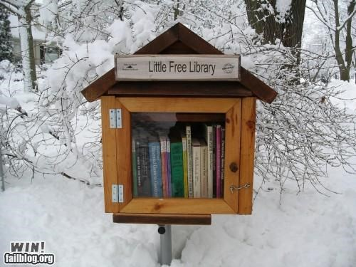 bird house,books,free,free stuff,Hall of Fame,library,philanthropy,rural,urban