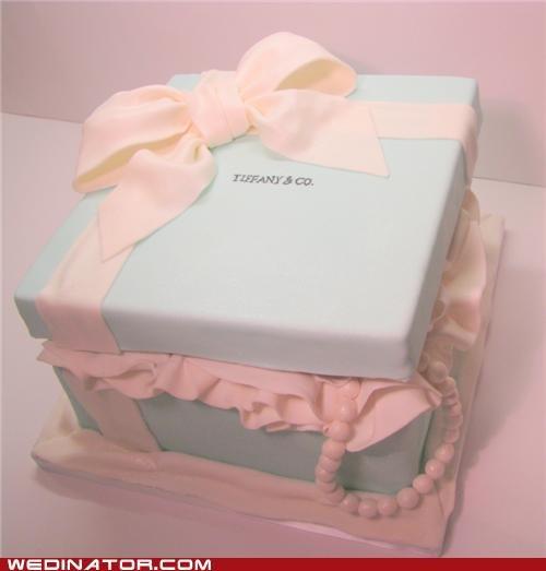 bridal shower cake,cake,funny wedding photos,tiffanys