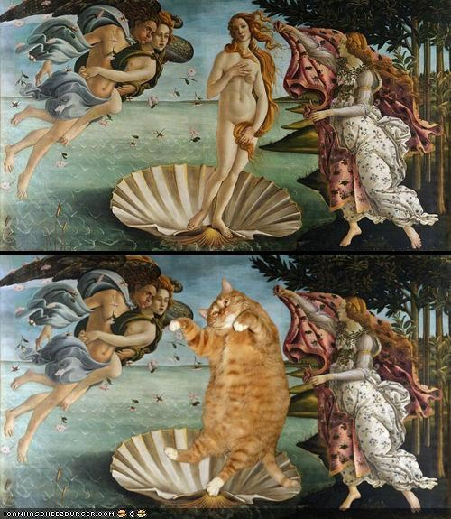 Improving Classic Art With Cats: A Gallery