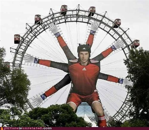 ferris wheel,goalie,sports soccer,wtf